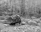 Boulder and River Stones, Wild River Maine, 2008