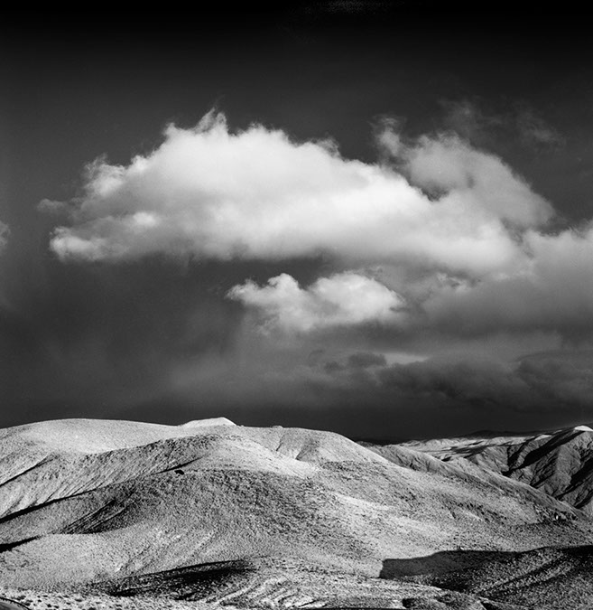 Cloud and Bandlands, Death Valley 2006